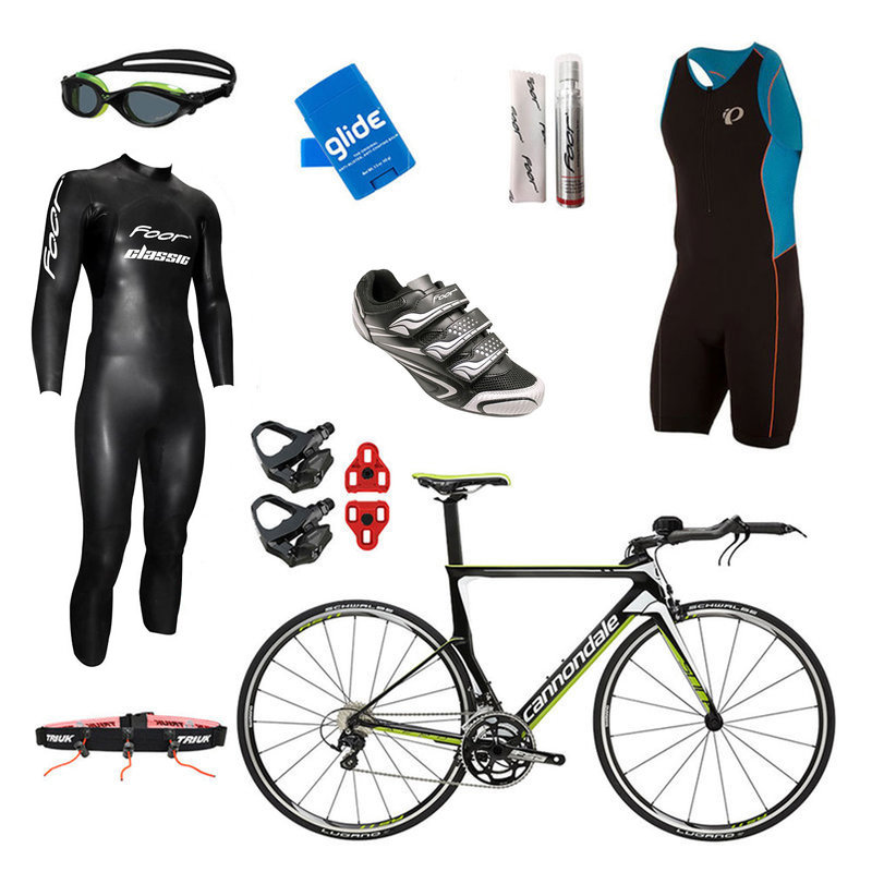 International Only - Cannondale Slice 105 Replica Mens Triathlon Package