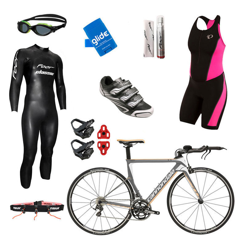 International Only - Cannondale Slice 105 Grey Womens Triathlon Package