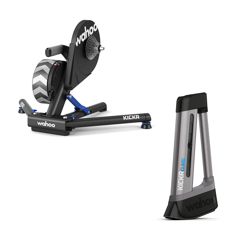 KICKR Smart Trainer and KICKR Climb KOM Bundle