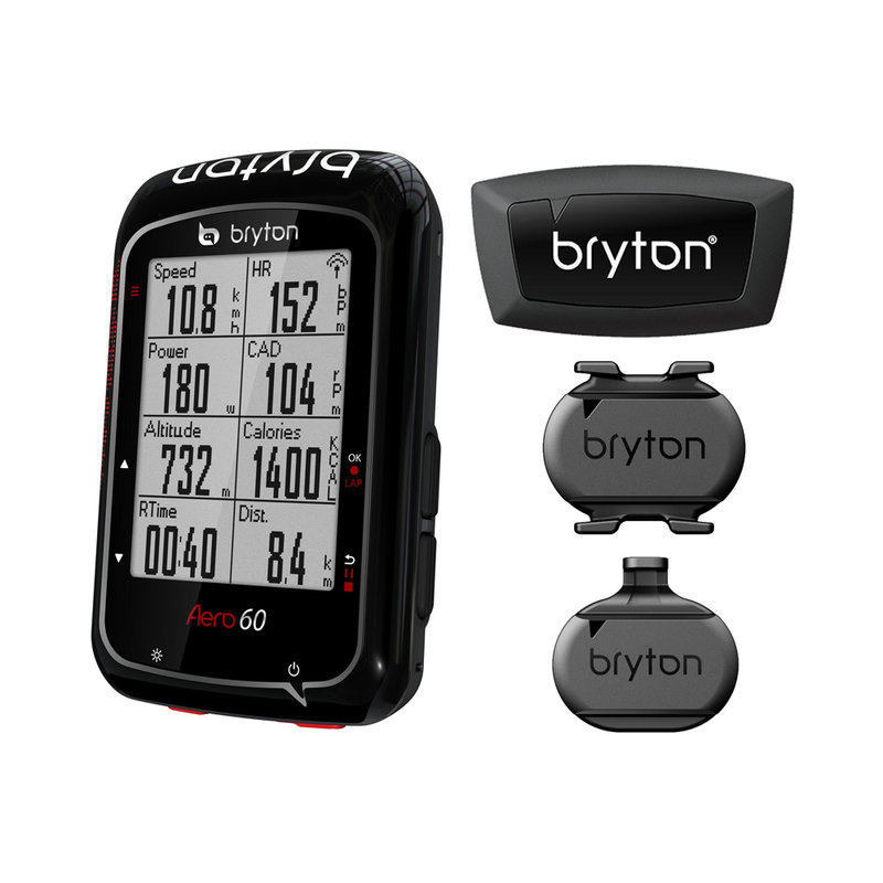 Aero 60 GPS + Speed + Cadence + HRM Bundle