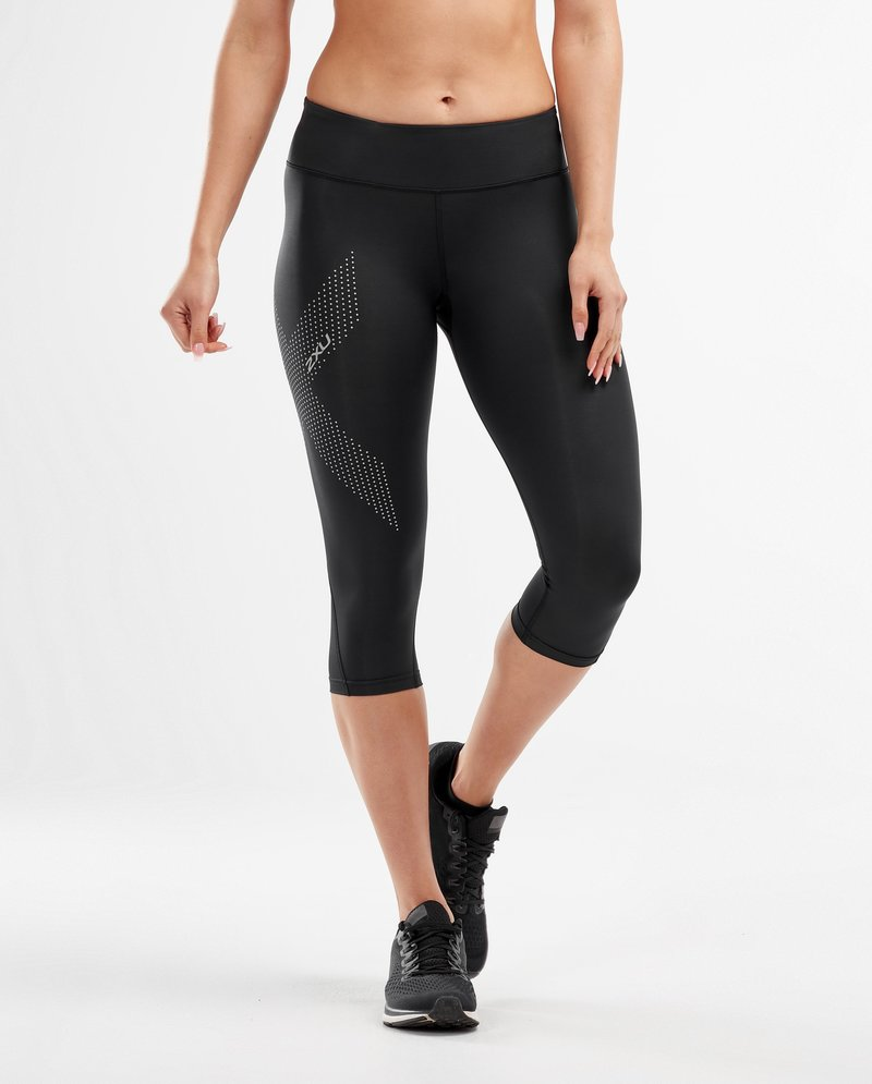 Mid-Rise Compression 3/4 Tights Women's