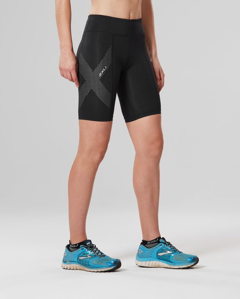 Mid-Rise Compression Shorts Women's