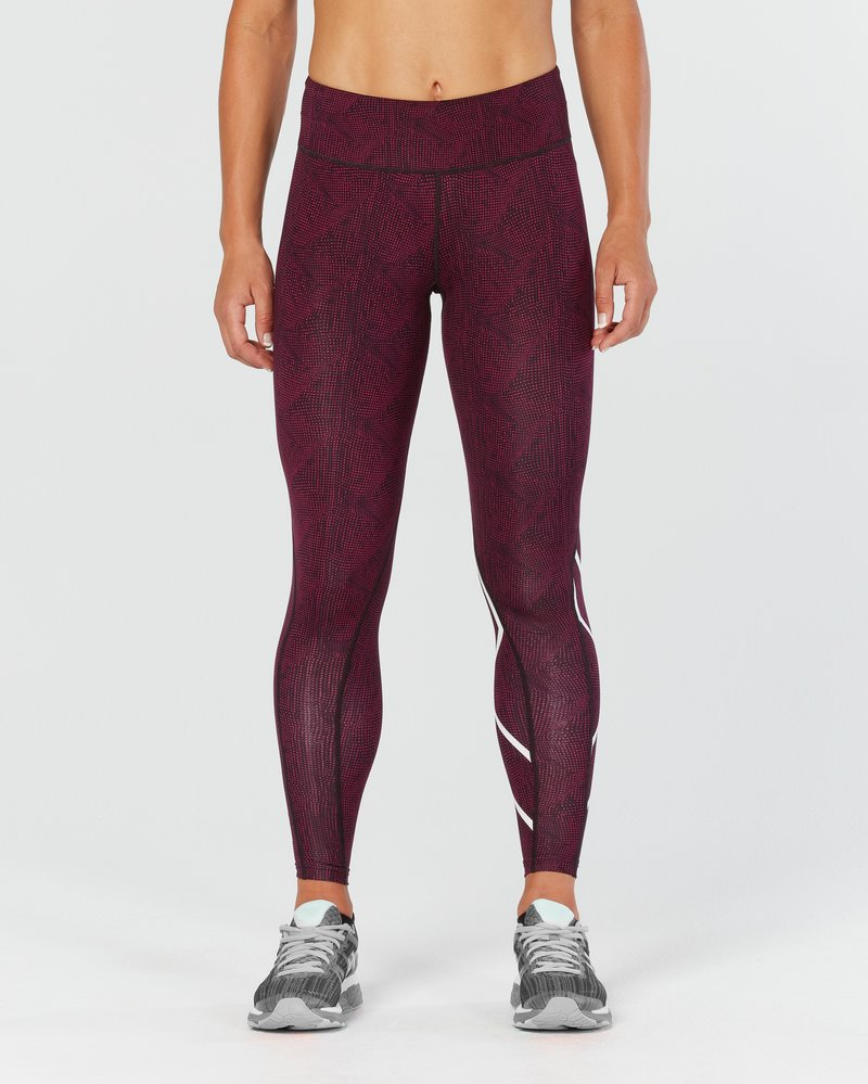 Mid-Rise Print Tight Women's