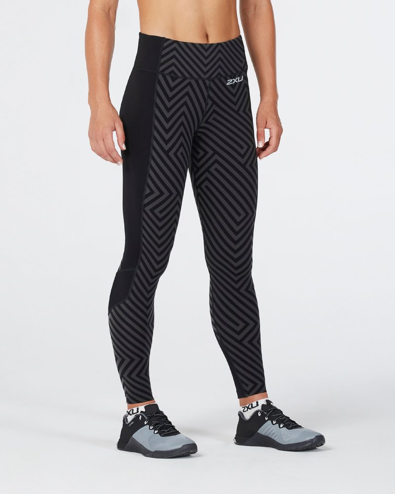 Fitness Compression Tights With Storage Women's