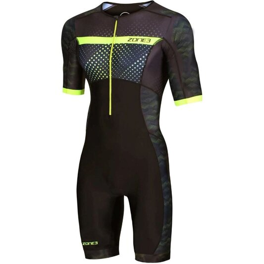 Activate Plus Revolution Short Sleeve Tri Suit