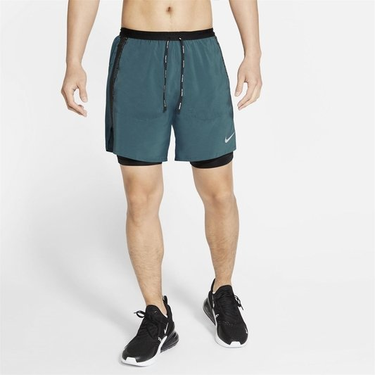 Flex Stride Run Division Mens Hybrid Running Shorts