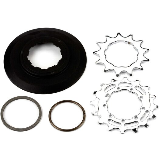 Sprocket and Disc Set: 13 16 Teeth, 3 32 Inch Wide Ratio 6 Speed