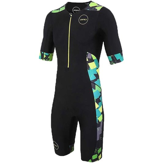 Stealth Camo Short Sleeve Full Print Trisuit