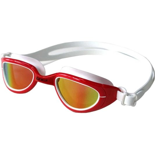 Attack Swim Goggles   Polarized Lens   Red White
