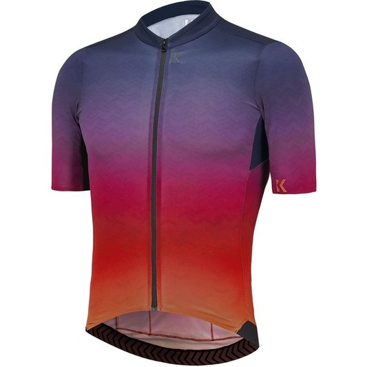 Flux Print Mens Short Sleeve Jersey