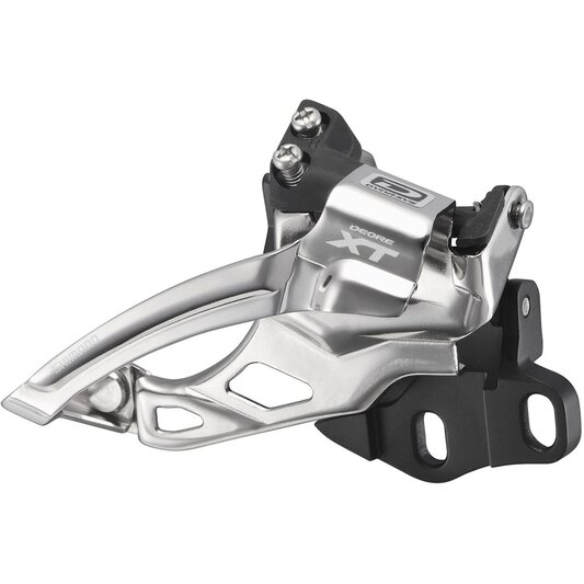 M785 XT 10 speed Double Front Derailleur, E Type, Dual Pull