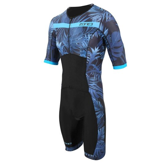 Activate Topical Palm Short Sleeve Trisuit