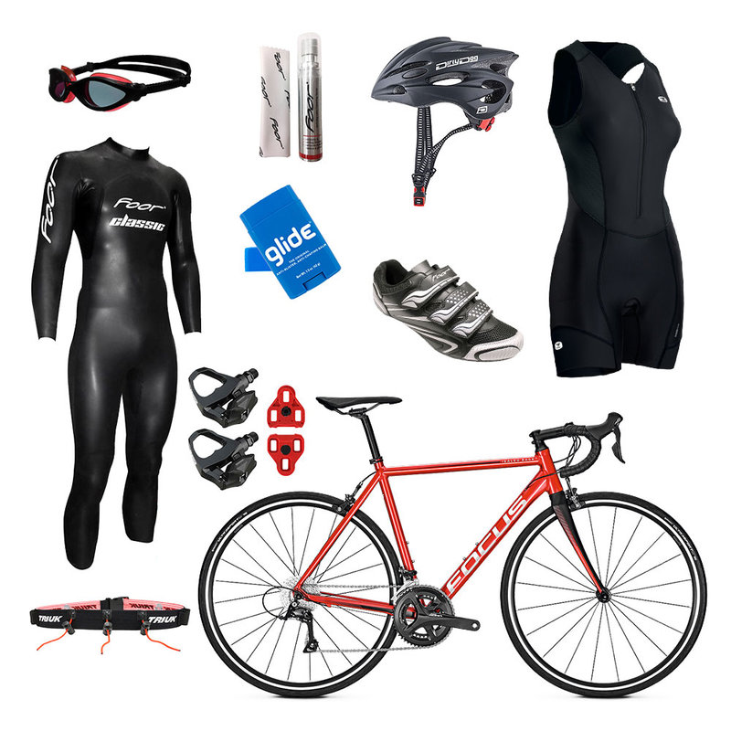 Focus Izalco Womens Triathlon Package