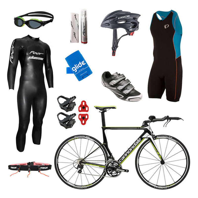 Cannondale Slice 105 Team Replica Mens Triathlon Package